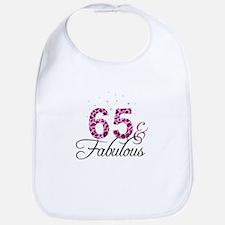 65 and Fabulous Bib