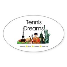 TOP Tennis Dreams Decal