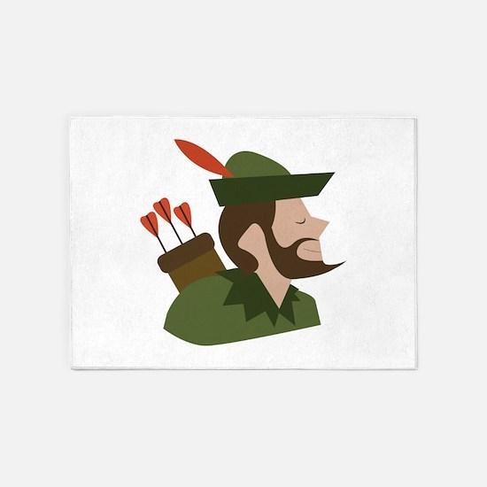 Robin Hood 5'x7'Area Rug