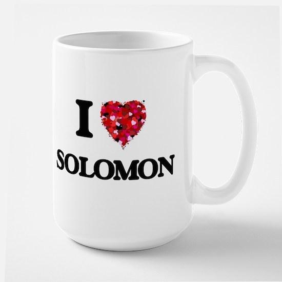 I Love Solomon Mugs