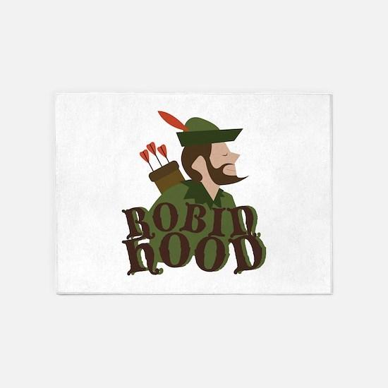 Robin Hoods 5'x7'Area Rug