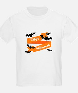 Happy Halloween Bats T-Shirt