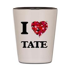 I Love Tate Shot Glass