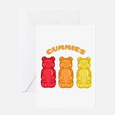 Gummies Greeting Cards