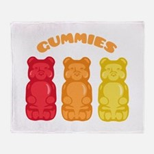 Gummies Throw Blanket