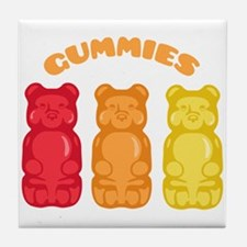 Gummies Tile Coaster
