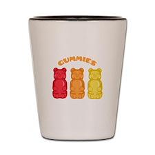 Gummies Shot Glass