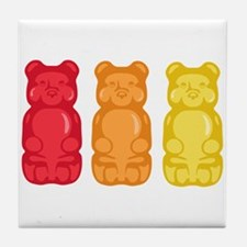 Gummy Bears Tile Coaster