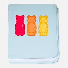 Gummy Bears baby blanket