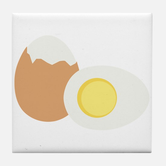 Hard Boiled Egg Tile Coaster