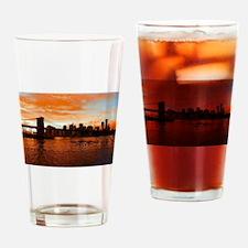 BROOKLYN BRIDGE MEMORIES Drinking Glass