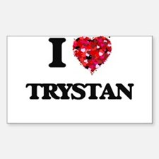 I Love Trystan Decal