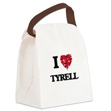 I Love Tyrell Canvas Lunch Bag