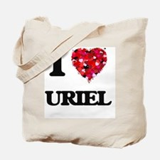 I Love Uriel Tote Bag