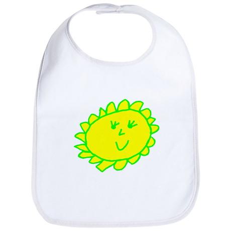 Smiling Sun Bib