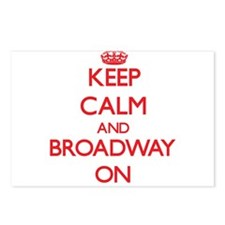Keep Calm and Broadway ON Postcards (Package of 8)