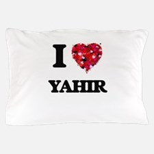 I Love Yahir Pillow Case
