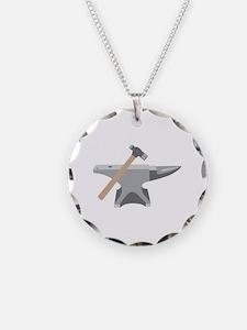 Anvil & Hammer Necklace