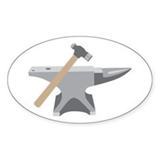 Anvil & Hammer Decal