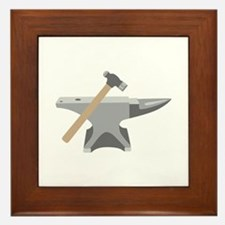 Anvil & Hammer Framed Tile