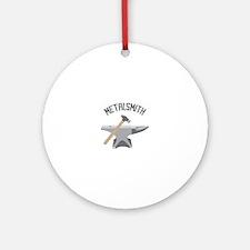 Metalsmith Ornament (Round)