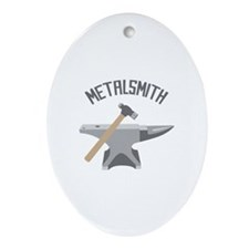 Metalsmith Ornament (Oval)