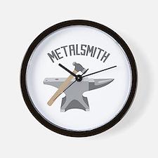 Metalsmith Wall Clock