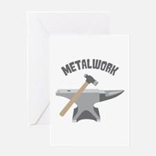 Metal Work Greeting Cards