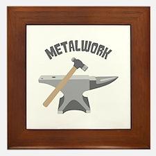 Metal Work Framed Tile