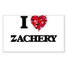 I Love Zachery Decal