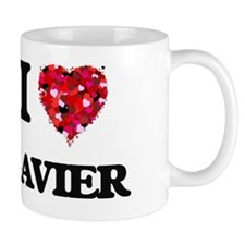 I Love Zavier Small Mug