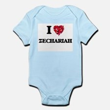 I Love Zechariah Body Suit