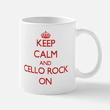 Keep Calm and Cello Rock ON Mug