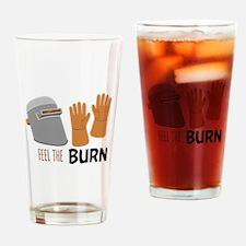 Feel The Burn Drinking Glass