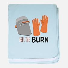 Feel The Burn baby blanket