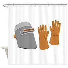 Welding Equipment Shower Curtain