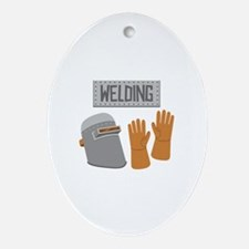 Welding Ornament (Oval)