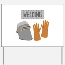 Welding Yard Sign