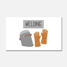 Welding Car Magnet 20 x 12