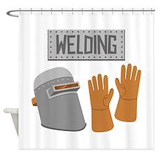 Welding Shower Curtain