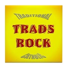Trads Rock Tile Coaster