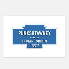 Punxsutawney, Groundhog D Postcards (Package of 8)