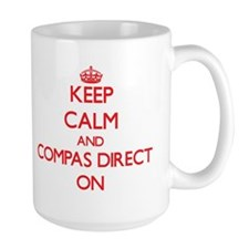 Keep Calm and Compas Direct ON Mugs