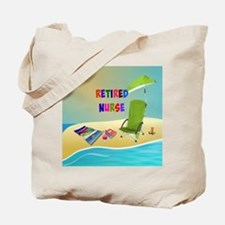 Retired Nurse, fun in the sun Tote Bag
