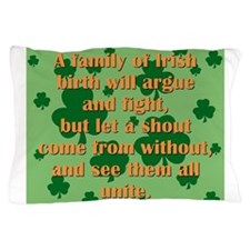 An Irish Family Pillow Case