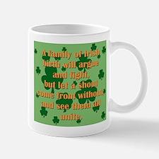 An Irish Family Mugs