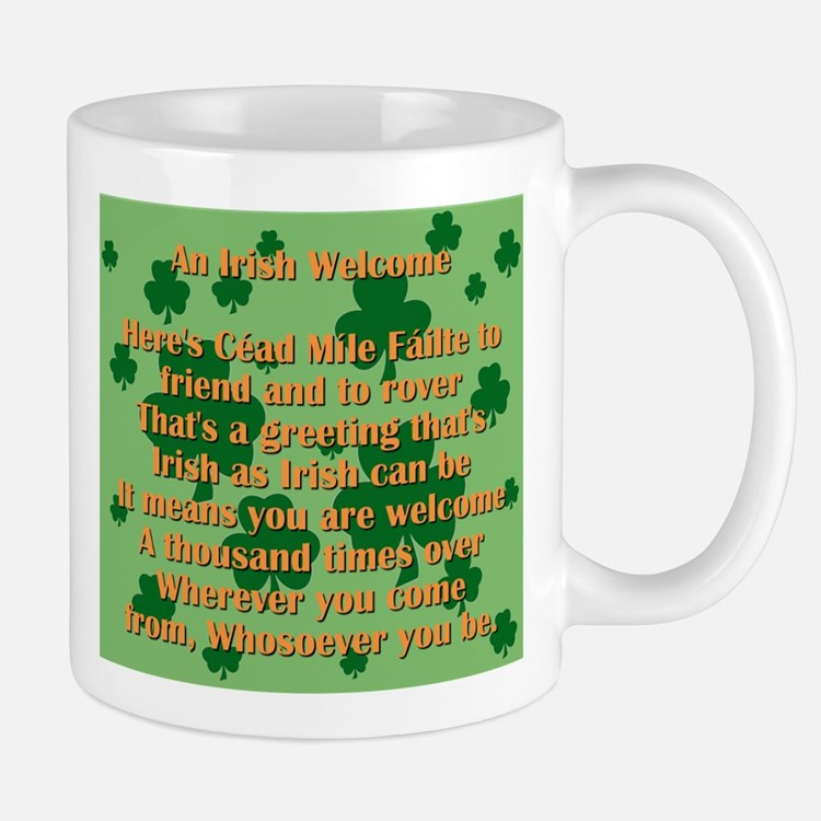 An Irish Welcome Mugs