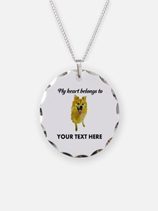 Personalized Pomeranian Necklace