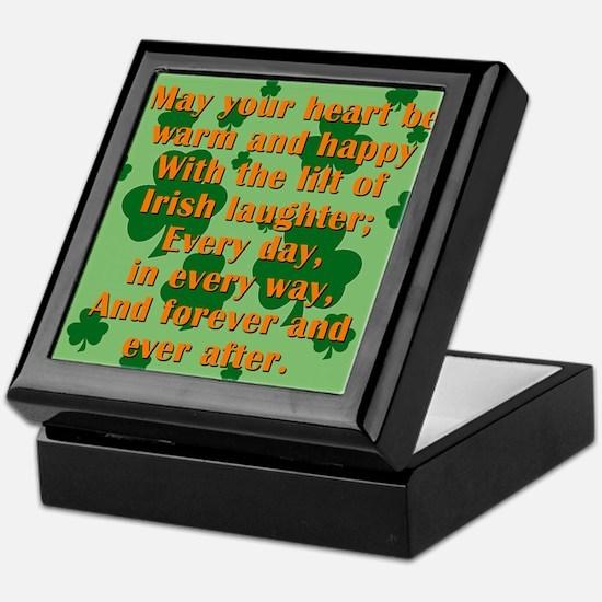 May Your Heart Be Warm Keepsake Box