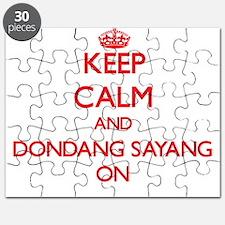 Keep Calm and Dondang Sayang ON Puzzle
